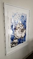 Hipster Dog Dreams (Philip Guston): Homie Dreams Suite 2012 Limited Edition Print by Tom Everhart - 2