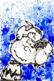 Hipster Dog Dreams (Philip Guston): Homie Dreams Suite 2012 Limited Edition Print - Tom Everhart