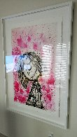 Homegirl Dreams (Bridget Riley): Homie Dreams Suite 2012 Limited Edition Print by Tom Everhart - 2