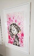 Homegirl Dreams (Bridget Riley): Homie Dreams Suite 2012 Limited Edition Print by Tom Everhart - 1