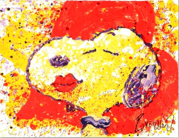 Kiss is Just a Kiss 1999 Limited Edition Print by Tom Everhart
