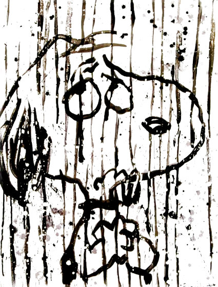Dancing in the Rain 2001 Limited Edition Print by Tom Everhart