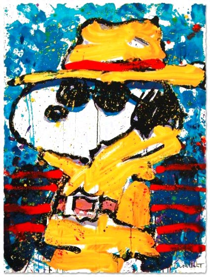 Undercover in Beverly Hills Limited Edition Print by Tom Everhart