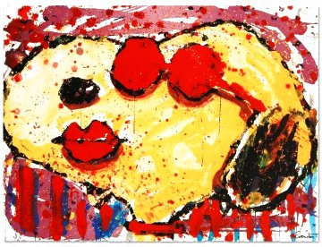 Very Cool Red Lips Limited Edition Print - Tom Everhart