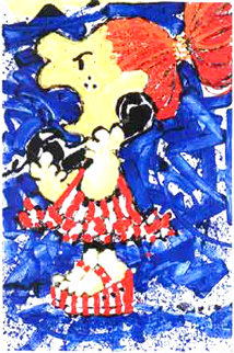 1-800 My Hair Is Pulled Too Tight 2000 Limited Edition Print - Tom Everhart