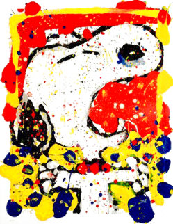 Squeeze the Day - 2001 Friday 48x39 Huge Limited Edition Print - Tom Everhart