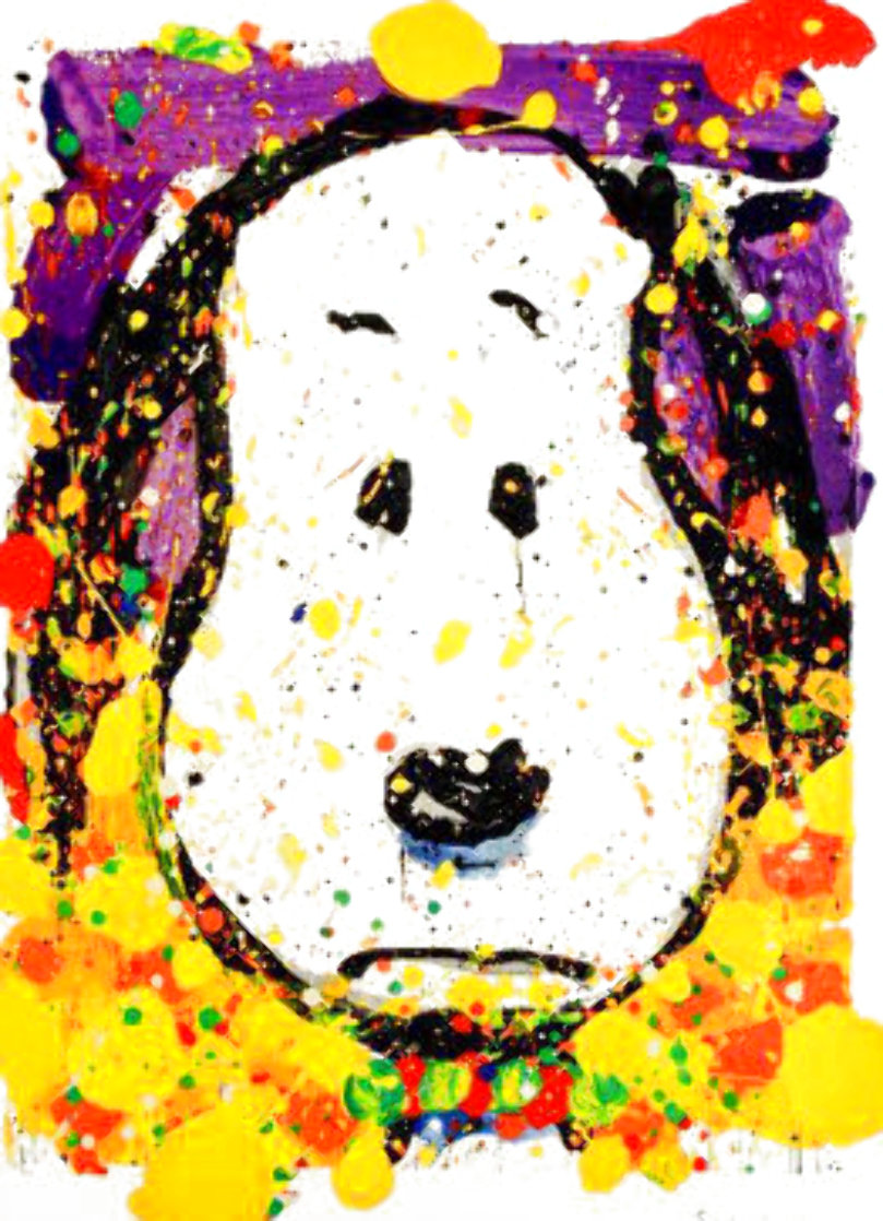 Squeeze the Day - 2001 Thursday 59x40 Super Huge Limited Edition Print by Tom Everhart