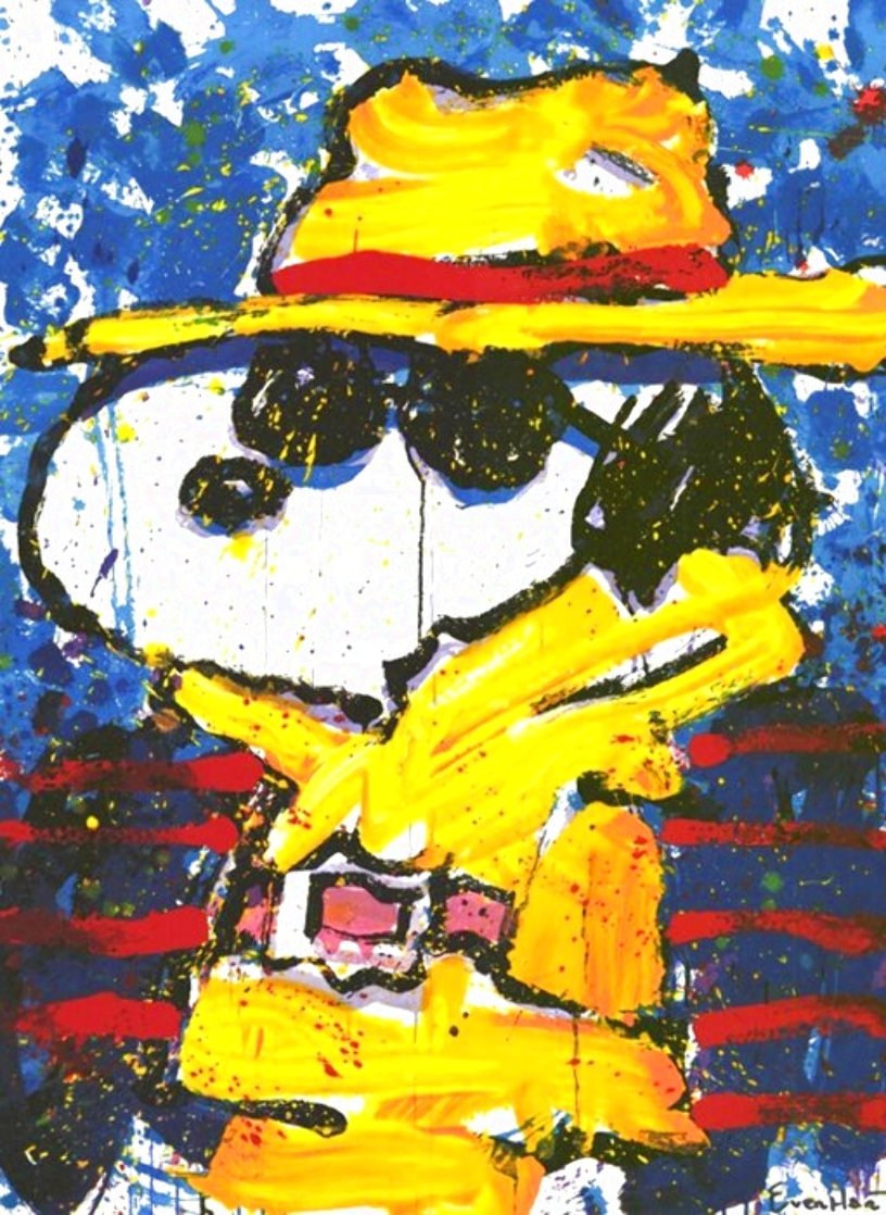 Undercover in Beverly Hills 1995 Limited Edition Print by Tom Everhart