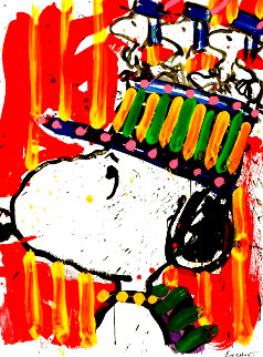 I Don't Wear Hats Limited Edition Print - Tom Everhart