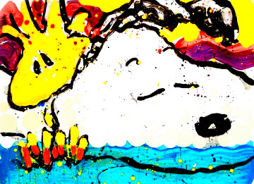 Bora Bora Boogie Bored 2003 Limited Edition Print - Tom Everhart
