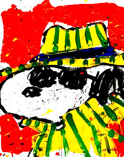 It's the Hat That Makes the Dude 2000 Limited Edition Print - Tom Everhart