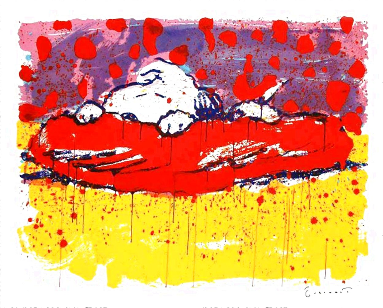 Pig Out 2000 Limited Edition Print by Tom Everhart