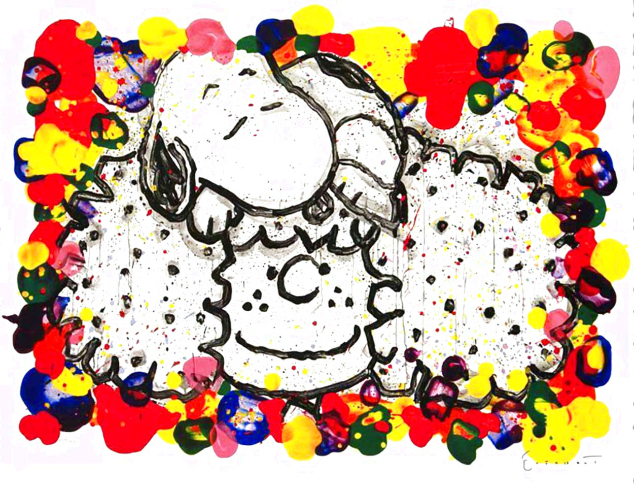 Why I Like Big Hair 2010 Limited Edition Print by Tom Everhart