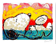 Bora Bora Boogie Down 2003 Limited Edition Print by Tom Everhart - 1