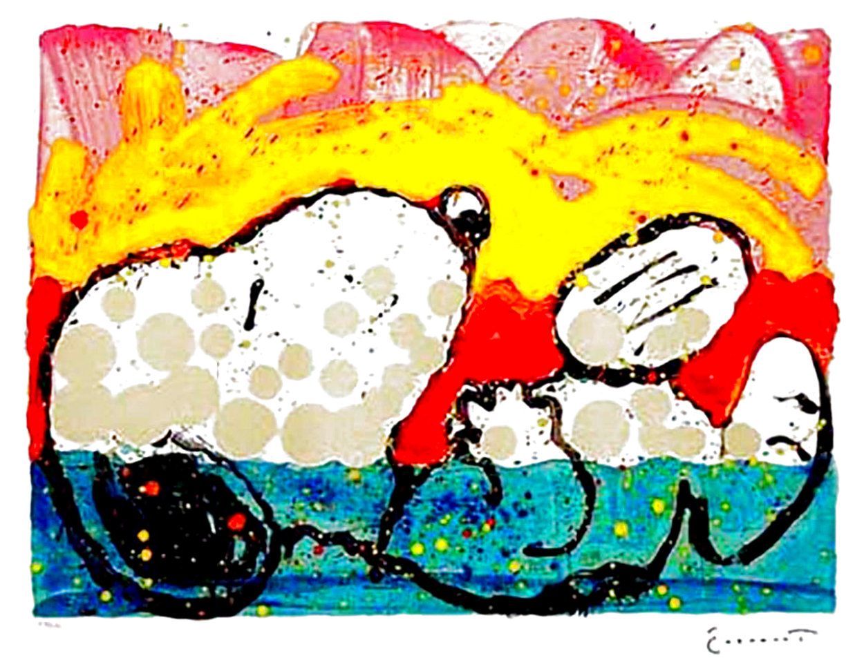 Bora Bora Boogie Down 2003 Limited Edition Print by Tom Everhart