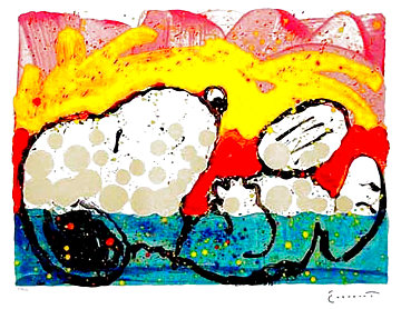 Bora Bora Boogie Down 2003 Limited Edition Print - Tom Everhart