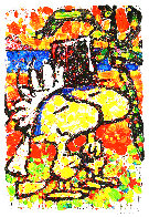Hitched 2007 Limited Edition Print by Tom Everhart - 0