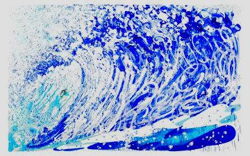 Jean Michel's Wake AP 2018  Huge Limited Edition Print - Tom Everhart