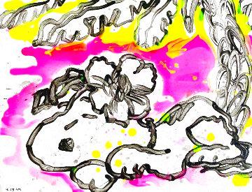 Palm 4:23pm  11x15 Original Painting - Tom Everhart