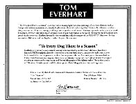 To Every Dog There Is a Season (Suite of 4) Limited Edition Print by Tom Everhart - 8