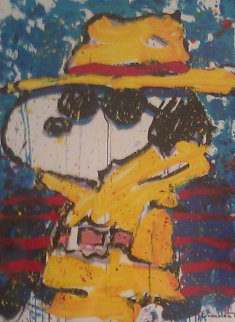 Undercover in Beverly Hills, California 1995 Limited Edition Print by Tom Everhart