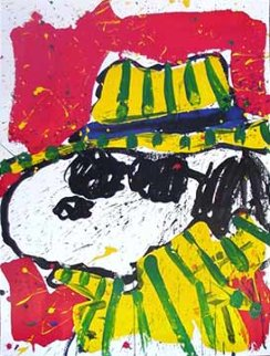 It's the Hat That Makes the Dude 2002 Limited Edition Print - Tom Everhart