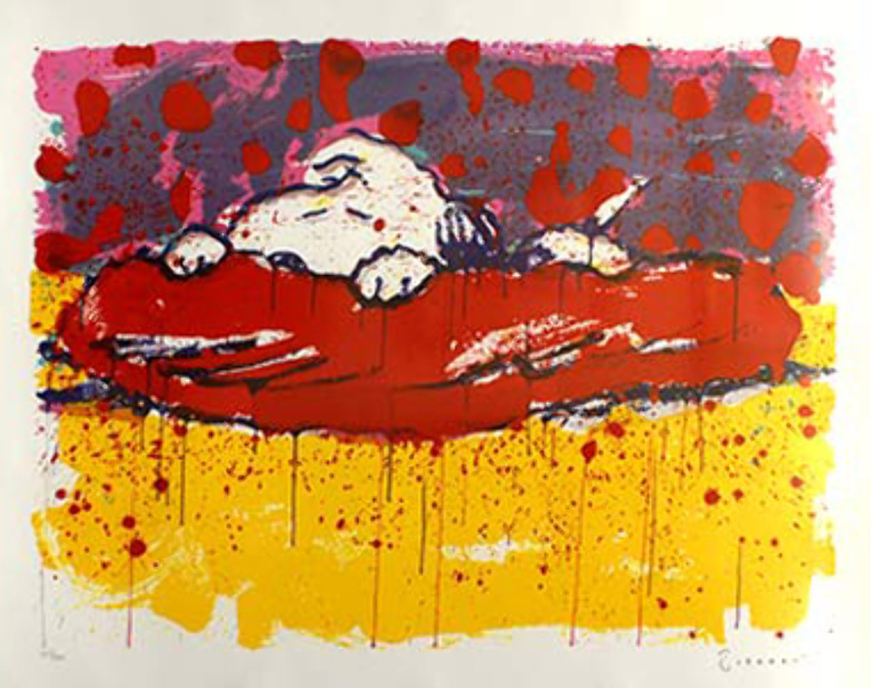 Pig Out, Captain Dreamer Limited Edition Print by Tom Everhart