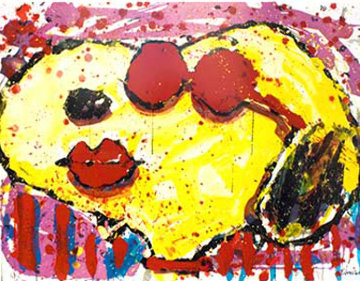 Very Cool Dog Lips in Brentwood, California 2001 Limited Edition Print by Tom Everhart