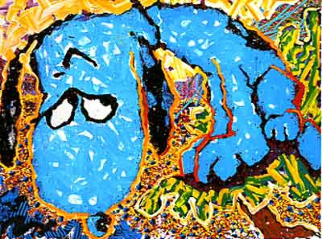 Hollywood Hound Dog Limited Edition Print by Tom Everhart