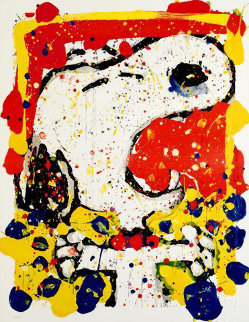 Squeeze the Day - 2001 Friday 48x39 Limited Edition Print by Tom Everhart