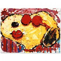 Very Cool Dog Lips in Brentwood, California 2001 Limited Edition Print by Tom Everhart - 1