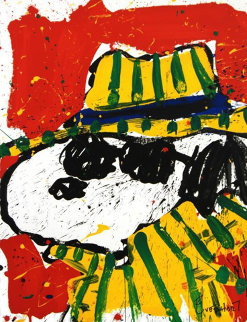 It's the Hat That Makes the Dude Limited Edition Print by Tom Everhart