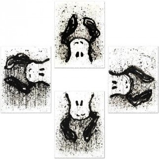 Watchdog O'clock Suite of 4 Limited Edition Print by Tom Everhart