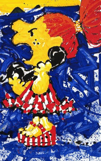 1-800 My Hair is Pulled Too Tight Limited Edition Print by Tom Everhart