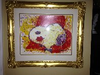 A Kiss is Just a Kiss 1999 Limited Edition Print by Tom Everhart - 1