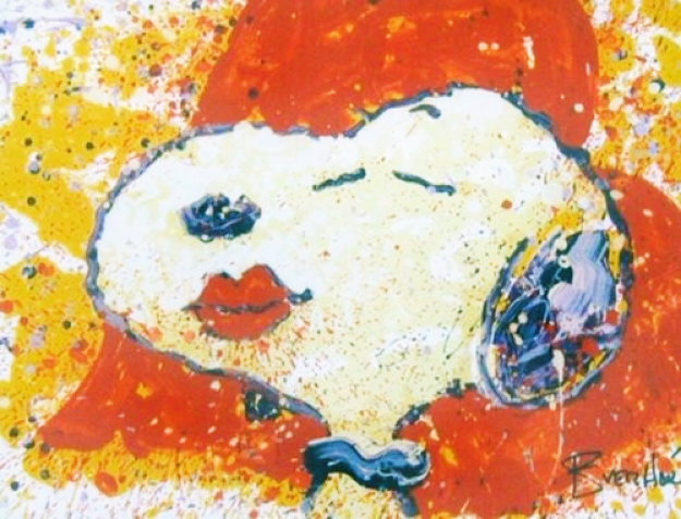 A Kiss is Just a Kiss 1999 Limited Edition Print by Tom Everhart
