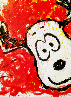 To Every Dog There is a Season - Spring 1996 Limited Edition Print by Tom Everhart