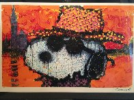 A Guy in a Sharkskin Suit Wearing a Rhinestone Hat atTwilight 2000 Limited Edition Print by Tom Everhart - 1