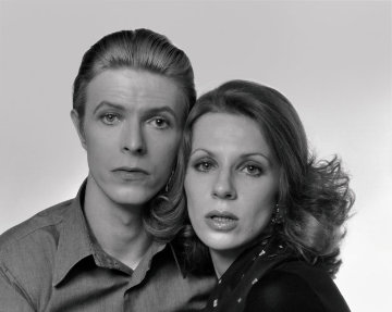 David and Angie Bowie Limited Edition Print - Tom Kelley