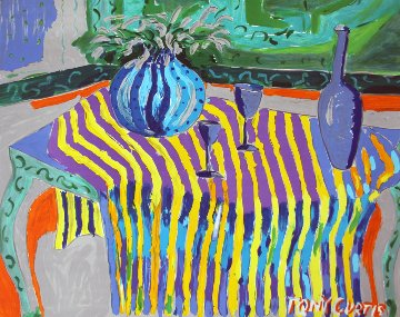 Still Life With Wine AP 2009 Limited Edition Print by Tony Curtis
