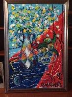 Springtime 40x28 Super Huge Original Painting by Tony Curtis - 1