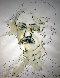 Edgar Allan Poe 1981 17x13 Drawing by Tony Curtis - 0