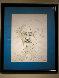 Edgar Allan Poe 1981 17x13 Drawing by Tony Curtis - 1