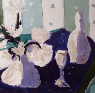 Our Romantic Evening Original Painting by Tony Curtis - 6