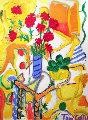 Summer Warmth Original Painting - Tony Curtis