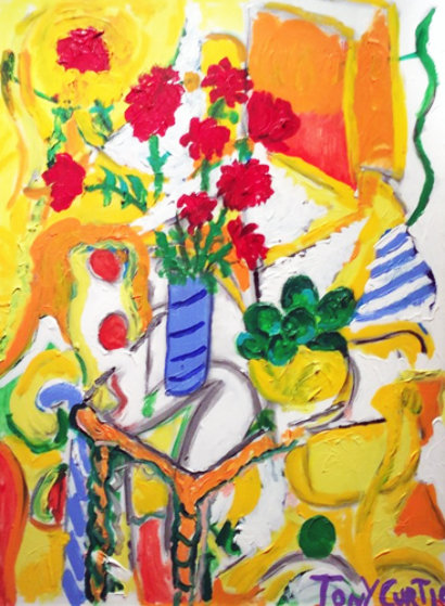 Summer Warmth Original Painting by Tony Curtis