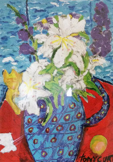 Flowers By Oz 1997 Limited Edition Print by Tony Curtis