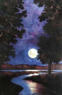 Moonrise  AP 2003 Limited Edition Print - Gwen Toomalatai