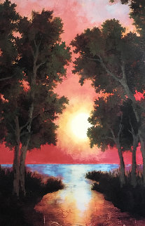 Sunrise AP 2003 Limited Edition Print by Gwen Toomalatai