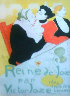 Reine De Joie 1926 Limited Edition Print - Henri Toulouse-Lautrec